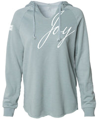 JOY HOODED PULLOVER (SAGE)