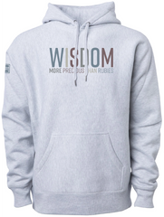 WISDOM ELEVATED HOODIE (GRAY)