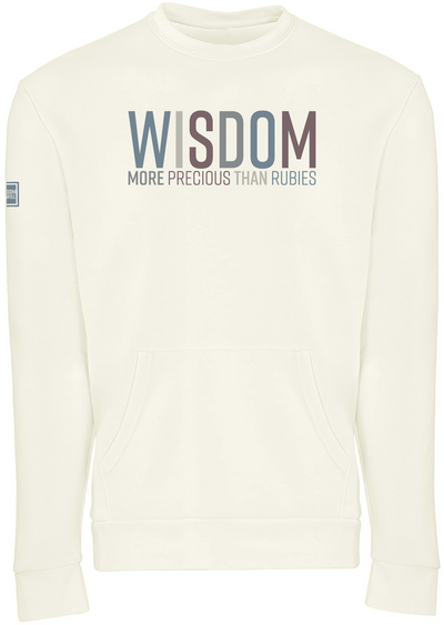 WISDOM POCKET SWEATSHIRT (BONE)