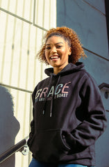 GRACE - ELEVATED HOODIE (BLACK)