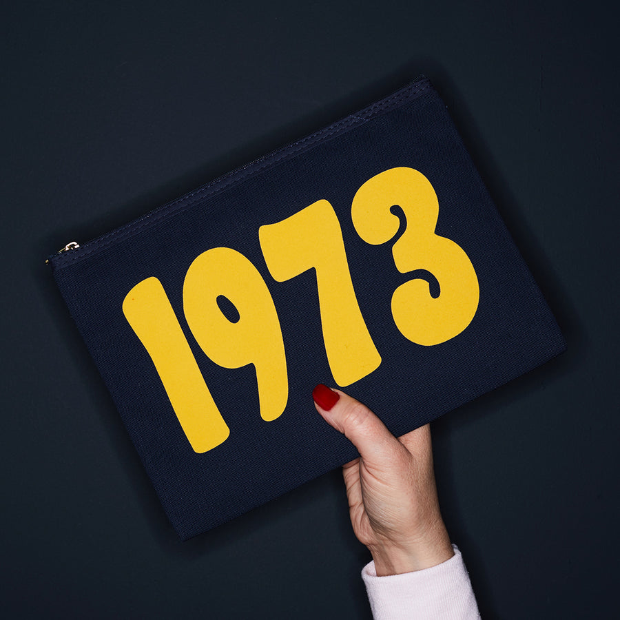 YEAR PURSE - NAVY/YELLOW