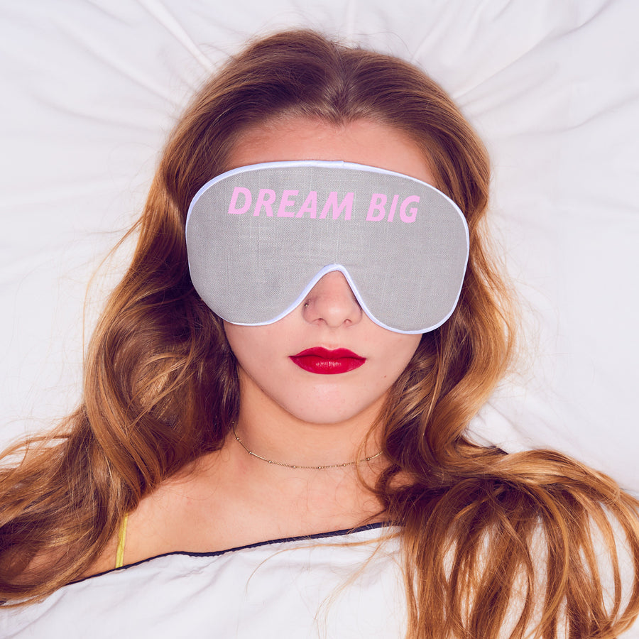 'DREAM BIG' EYE MASK