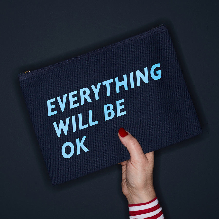 EVERYTHING WILL BE OK PURSE