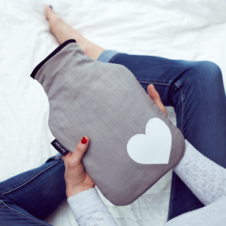 HOT WATER BOTTLE - HEART
