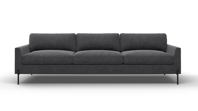 "Catwalk Sofa (100"" Wide, Leather Fabric)"