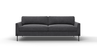 "Catwalk Sofa (80"" Wide, Velvet Fabric)"