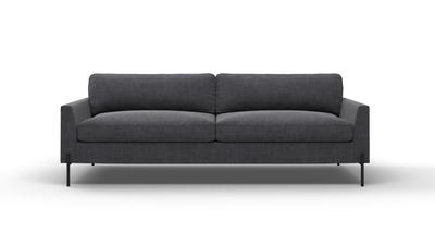 "Catwalk Sofa (85"" Wide, Velvet Fabric)"