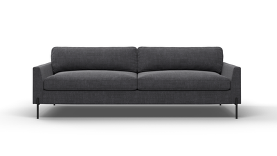 "Catwalk Sofa (90"" Wide, Velvet Fabric)"