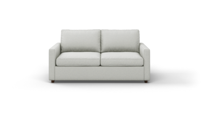 "Couch Potato Lite Sofa (70"" Wide, Extra Depth, Leather Fabric)"