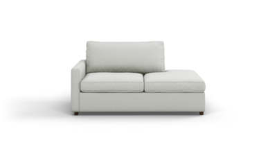 "Couch Potato Lite Sofa With Bumper (70"" Wide, Extra Depth, Performance Fabric)"