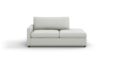 "Couch Potato Lite Sofa With Bumper (75"" Wide, Extra Depth, Performance Fabric)"