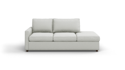 "Couch Potato Lite Sofa With Bumper (85"" Wide, Extra Depth, Performance Fabric)"