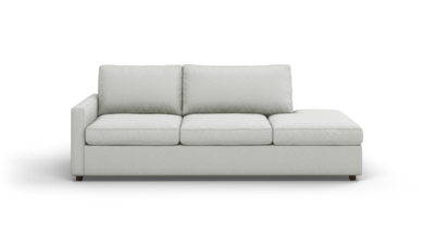"Couch Potato Lite Sofa With Bumper (95"" Wide, Extra Depth, Performance Fabric)"