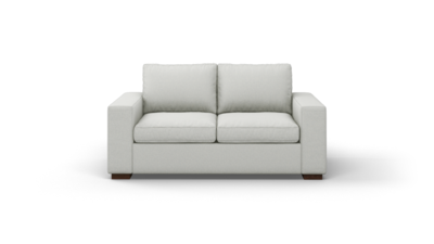 "Couch Potato Sofa (70"" Wide, Standard Depth, Leather Fabric)"
