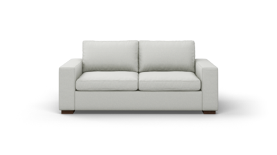 "Couch Potato Sofa (80"" Wide, Standard Depth, Velvet Fabric)"
