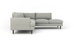Crowd Pleaser Sectional With Bumper