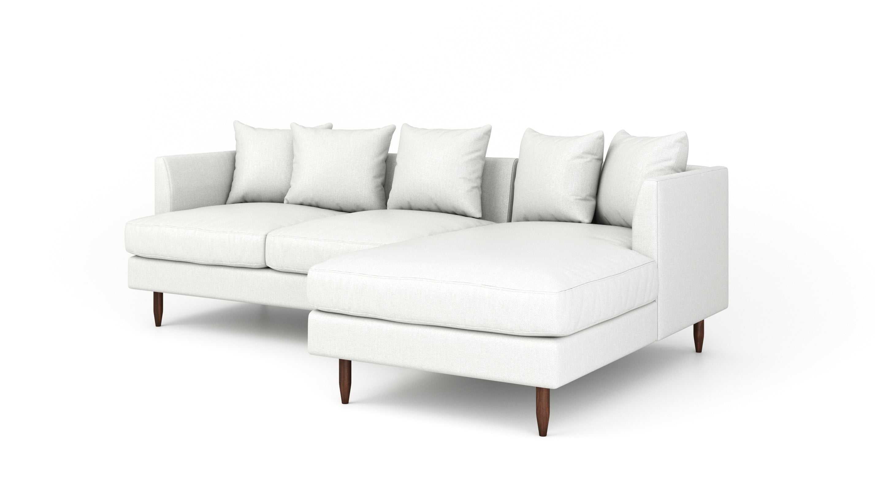 OG Crowd Pleaser Sofa With Chaise