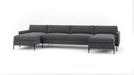 Catwalk Double Chaise Sectional