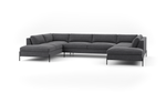 Catwalk U-Shaped Bumper Sectional