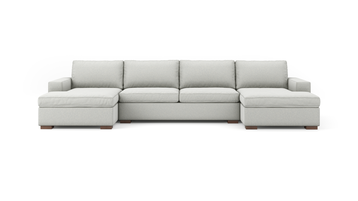 Couch Potato Double Chaise Sectional Benchmade Modern