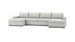 Couch Potato Double Chaise Sectional