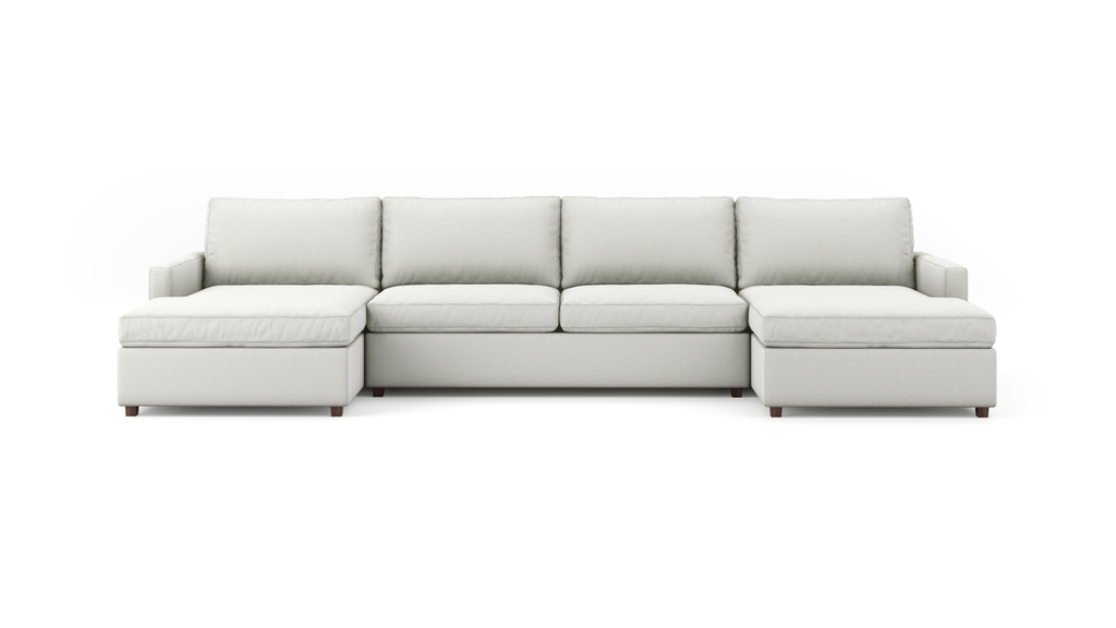 Couch Potato Lite Double Chaise Sectional