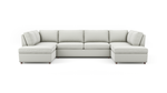 Couch Potato Lite U-Shaped Bumper Sectional