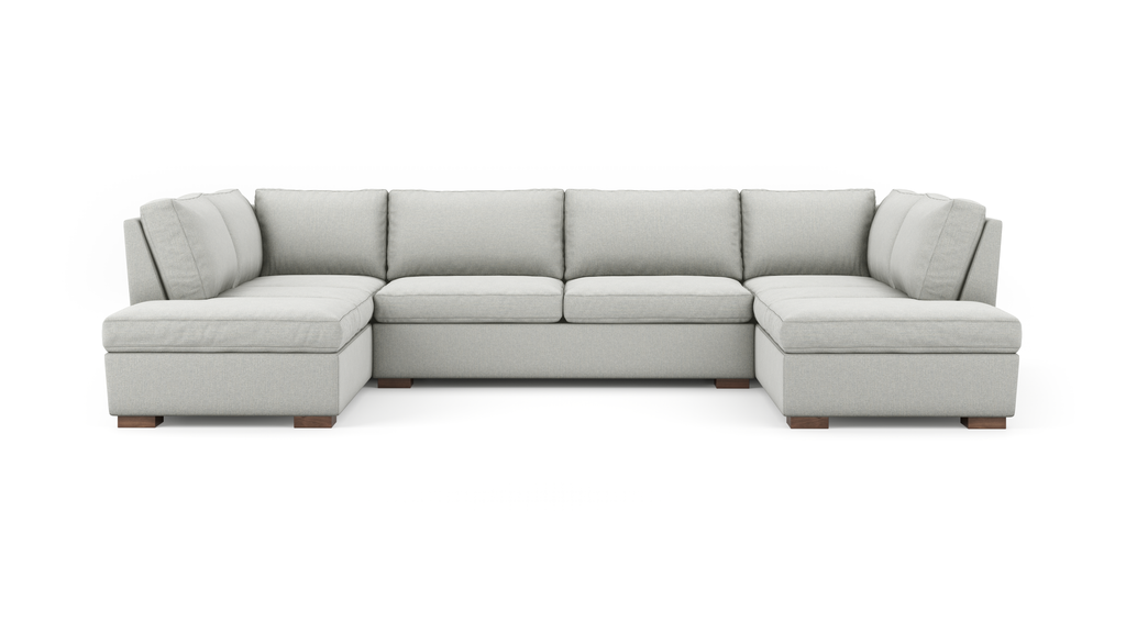 Couch Potato U-Shaped Bumper Sectional