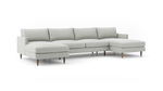 Crowd Pleaser Double Chaise Sectional
