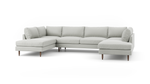 Crowd Pleaser U-Shaped Bumper Sectional
