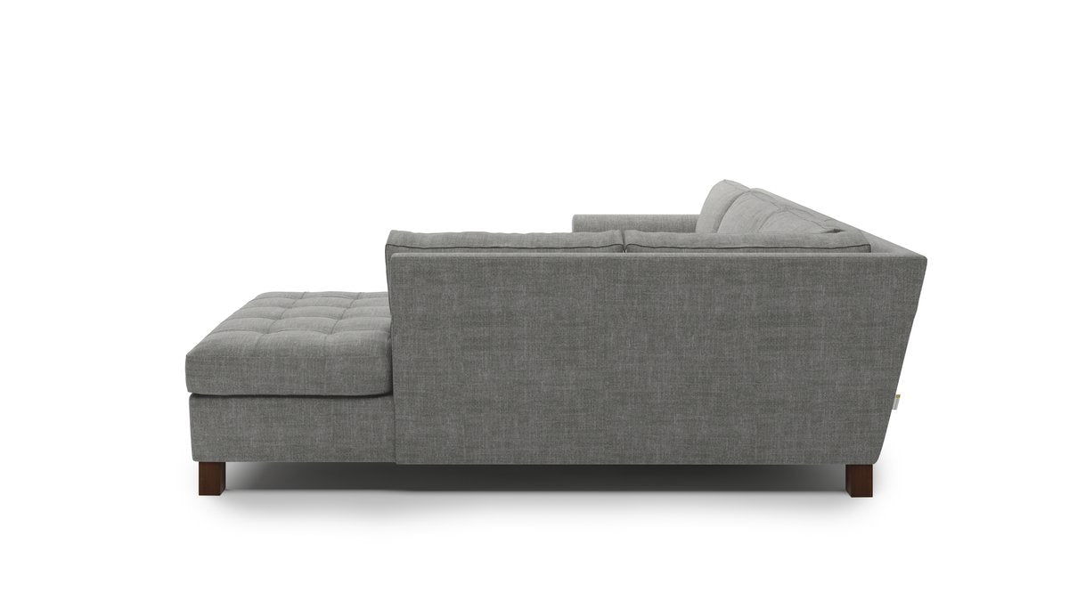 Home Sweet Home Sectional With Bumper