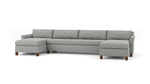 Home Sweet Home Double Chaise Sectional