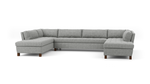 Home Sweet Home U-Shaped Bumper Sectional