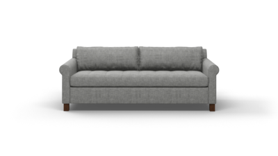 "Home Sweet Home Sofa (75"" Wide, Velvet Fabric)"