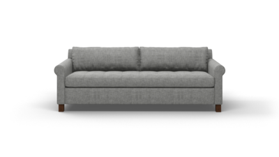 "Home Sweet Home Sofa (80"" Wide, Velvet Fabric)"
