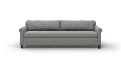 "Home Sweet Home Sofa (90"" Wide, Velvet Fabric)"