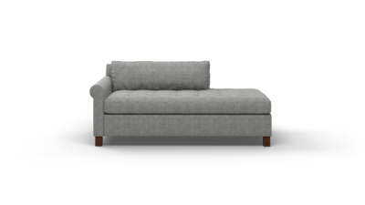 "Home Sweet Home Sofa With Bumper (65"" Wide, Velvet Fabric)"