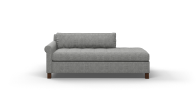 "Home Sweet Home Sofa With Bumper (70"" Wide, Velvet Fabric)"