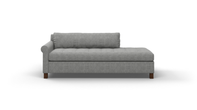 "Home Sweet Home Sofa With Bumper (75"" Wide, Performance Fabric)"