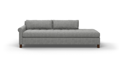 "Home Sweet Home Sofa With Bumper (90"" Wide, Performance Fabric)"