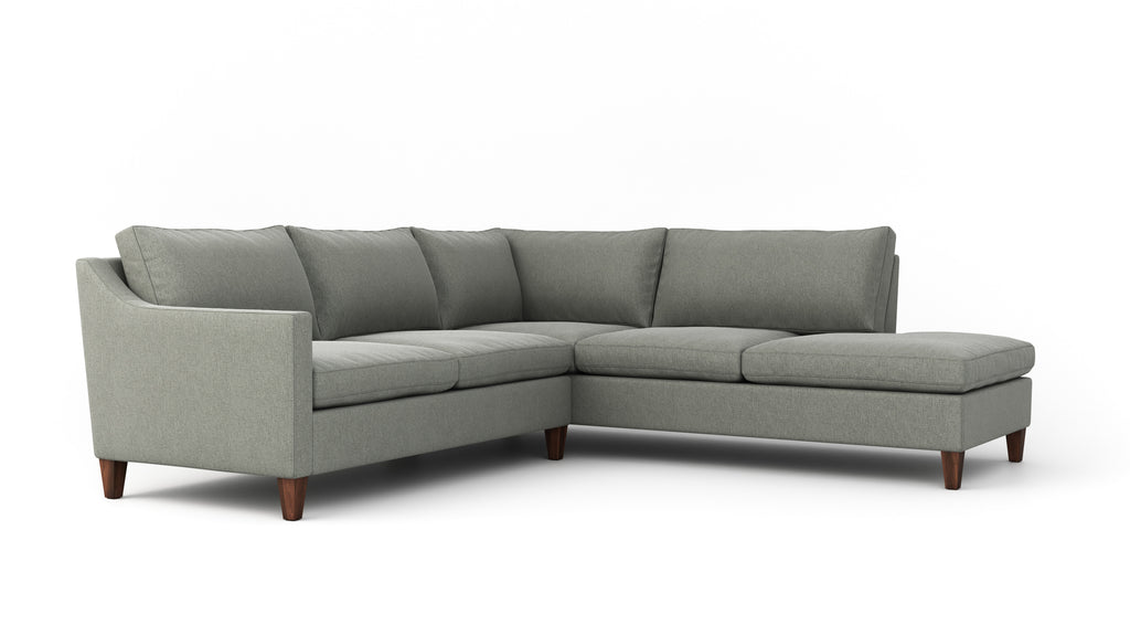 Johnny Homemaker Sectional With Bumper