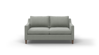 "Johnny Homemaker Sofa (65"" Wide, Leather Fabric)"