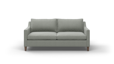 "Johnny Homemaker Sofa (75"" Wide, Leather Fabric)"