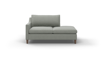 "Johnny Homemaker Sofa With Bumper (65"" Wide, Decide Later)"