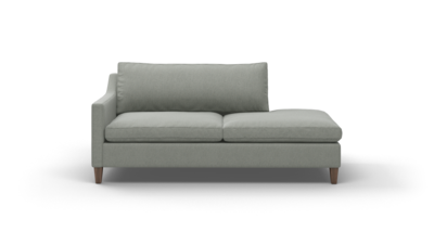 "Johnny Homemaker Sofa With Bumper (75"" Wide, Decide Later)"
