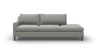 "Johnny Homemaker Sofa With Bumper (95"" Wide, Decide Later)"