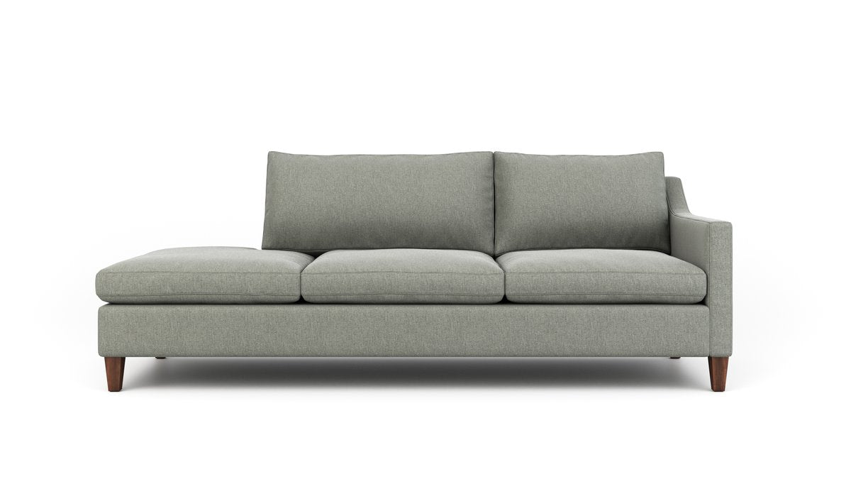Johnny Homemaker Sofa With Bumper