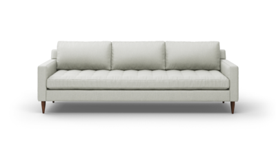 "MCM Sofa (100"" Wide, Performance Fabric, Fiber Package)"