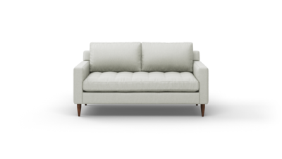 "MCM Sofa (65"" Wide, Velvet Fabric, Trillium Package)"