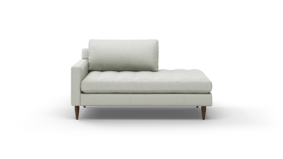 "MCM Sofa With Bumper (65"" Wide, Performance Fabric)"
